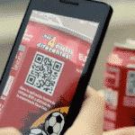 Códigos QR en la campaña de Coca Cola de la Eurocopa 2012