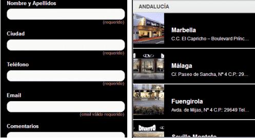 Divatto móvil: más información - tiendas