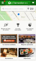 Mejor aplicación móvil de servicios turísticos: el Tenedor