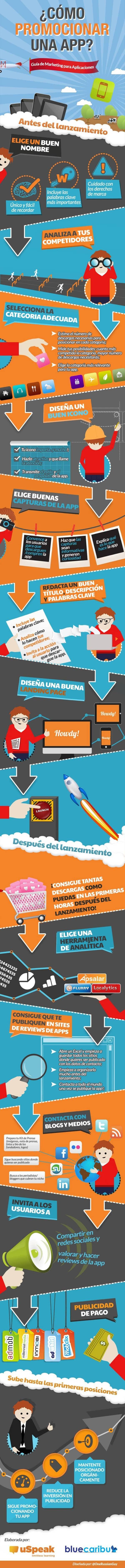 Promocionar aplicación móvil